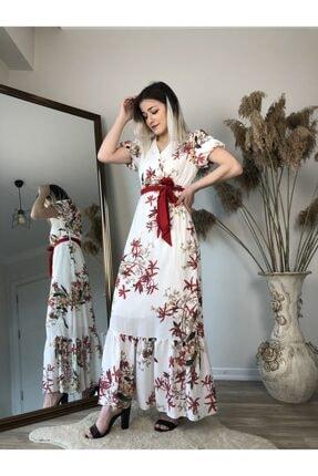 Pitti Çiçekli Şifon Elbise