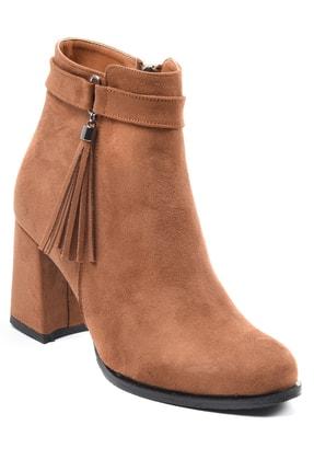 Sapin Kadın Kahverengi Topuklu Bot