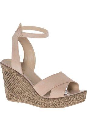 Graceland Deichmann Kadın Pudra Topuklu Sandalet 12402137