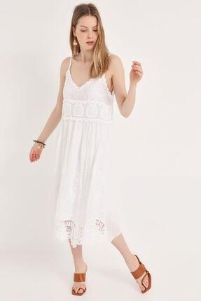 Home Store Kadın Beyaz Elbise 20102007117