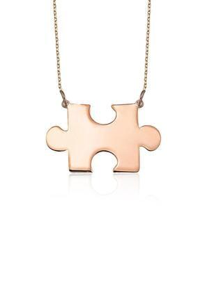 Azuris Silver Kadın 925 Ayar Gümüş Puzzle Kolye Alk1139