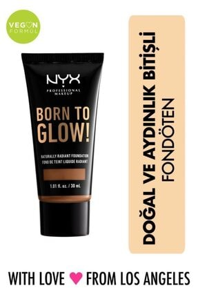 NYX Professional Makeup Born To Glow! Naturally Radıant Foundatıon 17 - Cappuccino