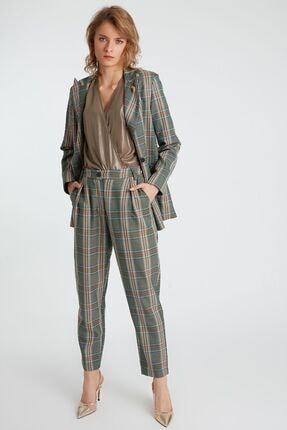 Home Store Kadın Haki Desenli Pantolon