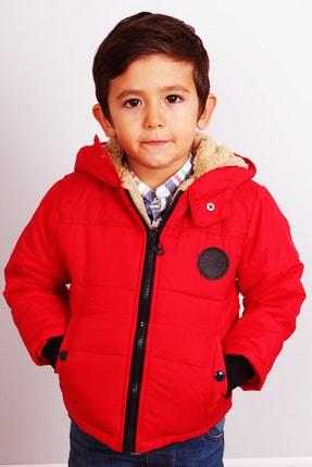 Milan Erkek Bebek Kırmızı Mont Kaban