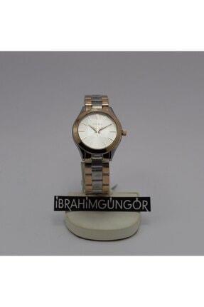 Homies Homıes Kadın Çelik Gold Zincir Kordon Dijital Saat