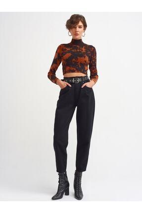 Dilvin Kadın Siyah  Slochy Pantolon-4205