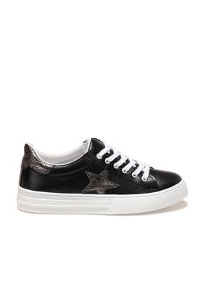 Butigo Ginebra Siyah Kadın Havuz Taban Sneaker