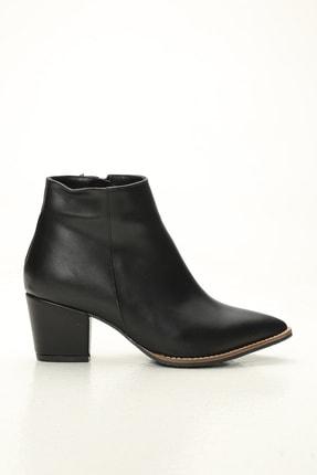Ayakkabı Modası Kadın Siyah Nubuk Bot