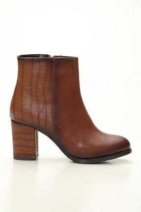 Ayakkabı Modası Kadın Taba Bot