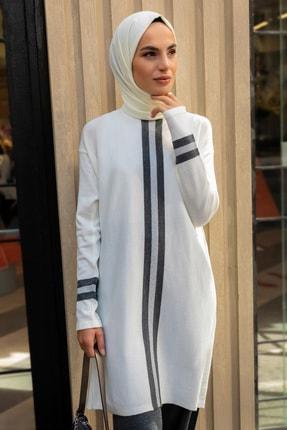 Refka Kadın Antrasit Triko Tunik&Pantolon İkili Takım 1775783