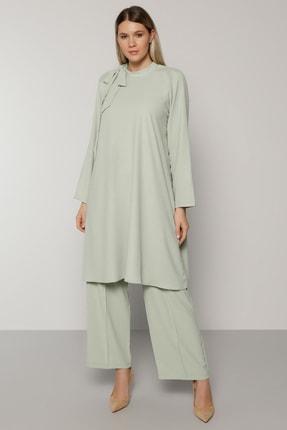 Alia Kadın Su Yeşili Tunik&Pantolon İkili Takım 1699485