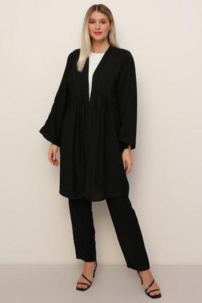 Alia Kadın Siyah Kap&Pantolon İkili Takım 1551791