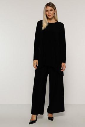 Alia Kadın Siyah Tunik&Pantolon İkili Takım 1408127