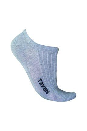 Tryon Unisex Gri 01352_20.040 Soket Çorap