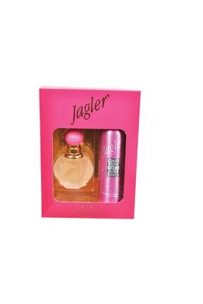 Jagler Gift Edt 60 ml Kadın Parfüm +Deodorant Set KOZMO357