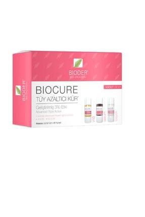 Bioder Tüy Azaltıcı Kür Vücut Için 3x10 ml - Yağ ,serum , Losyon