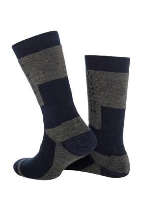 Thermoform Unisex Lacivert Çorap