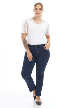 Big Free Kadın Dark Blue Pantolon Rd21Kb010874