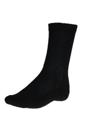 Sportive Spt Havlu 3lü Unisex Siyah Günlük Stil Çorap 2013006-n-syh-sp