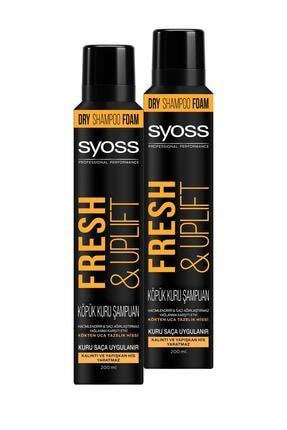 Syoss Fresh & Uplıft Köpük Kuru Şampuan 2x
