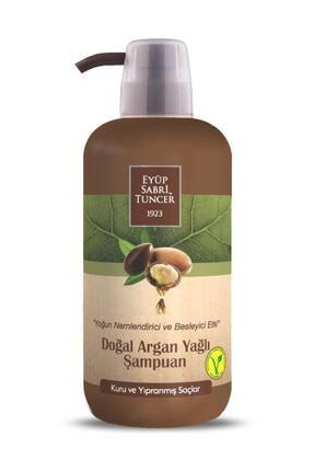 Eyüp Sabri Tuncer Doğal Argan Yağlı Şampuan Şampuan 600ml Pet Şişe