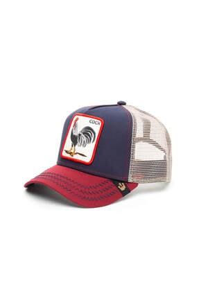 Goorin Bros Unisex Lacivert All American Rooster Şapka 101-2548