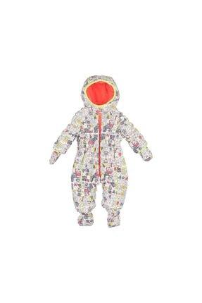 Chicco Unisex Çocuk Beyaz Günlük Tulum Mont  Padded Babysuit 09029318 031
