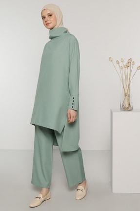 Benin Kadın Yeşil Tunik&Pantolon İkili Takım 1704163