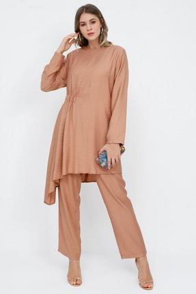 Alia Kadın Camel Tunik&Pantolon İkili Takım 1071701