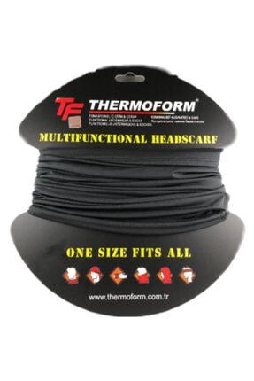 Thermoform Army Microfiber Boyunluk Siyah