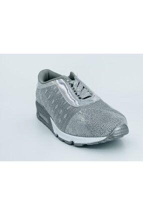Guja Kadın Gümüş Spor Ayakkabı 18y165