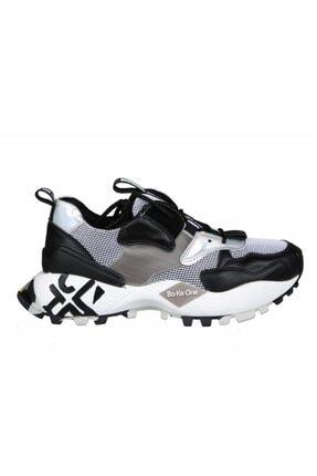 Guja Kadın Siyah Dolgu Topuk Sneakers