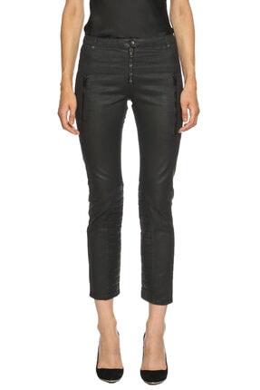 Alexander McQueen Kadın Siyah Jean Pantolon