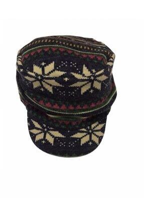 Kitti Kadın Renkli Kasket Şapka