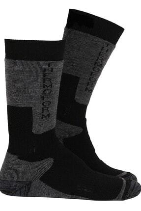 Thermoform Unisex Siyah Çorap