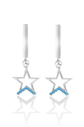 Azuris Silver 925 Ayar Yıldız Küpe Dsalk2153