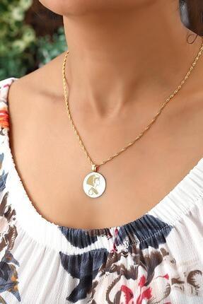 Azuris Silver 925 Ayar Gümüş Cleopatra Singapur Zincir Madalyon Kolye Dsalk1680