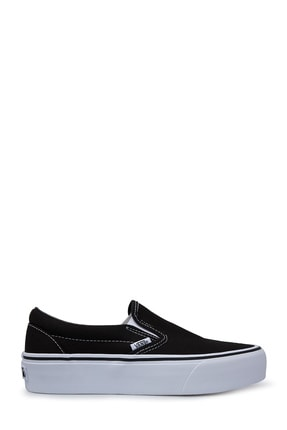 Vans Kadın Siyah Ua Classic Slip On Platform Ayakkabı  Vn00018eblk1