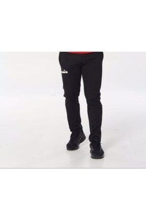 Diadora Unisex Siyah Dalgıç Kumaş Spor Eşofman Altı
