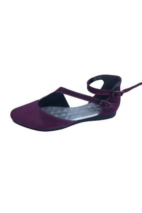 Riccardo Colli Rıccardo Collı Z243 Mor Kadın Babet Ayakkabı