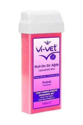 Vi-Vet Roll On Sir Ağda Pudralı 100 Ml 4 Adet