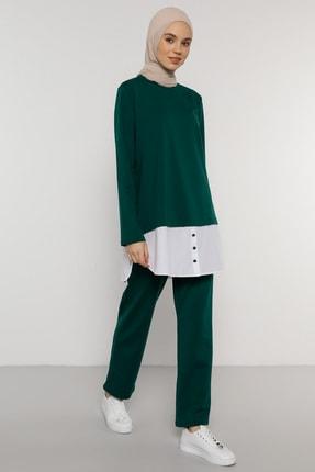 Benin Kadın Yeşil Tunik&Pantolon İkili Takım  1781213