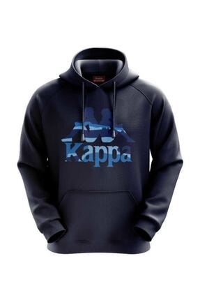Kappa 304s4p0 Kadın Kapüşolu Sweatshirt Lacivert L