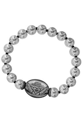 Valael Özel Tasarım Gümüş Chamuel Sembollü Bileklik