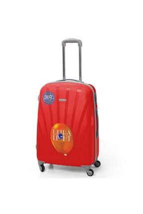 Yaygan Kadın Kırmızı  60cm Seyahat Valizi