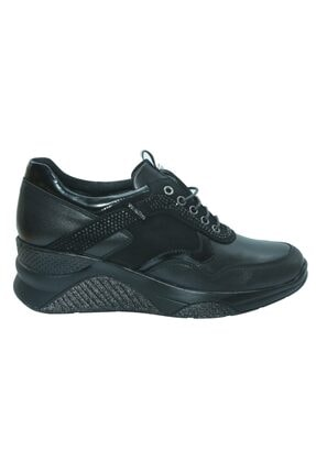 Venüs 1856070 Siyah Deri Casual Kadın Ayakkabı