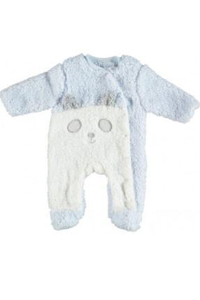 Bibaby Erkek Bebek Mavi Rabbit Tulum