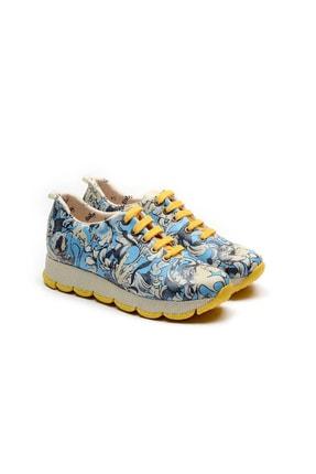 Goby Kadın Desenli Spor Ayakkabı