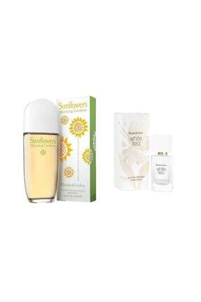 Elizabeth Arden Sunflowers Morning Garden Edt 100 Ml Kadın Parfüm+white Tea Edt 30 Ml Kadın Parfüm