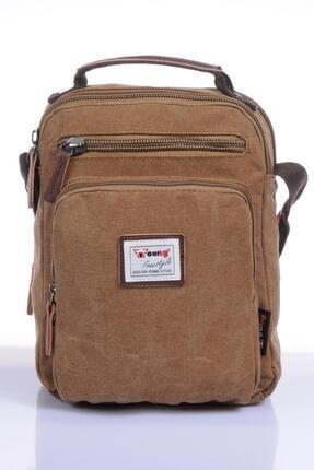 YOUNG Yg31040 Kahverengi Unısex Body Bag